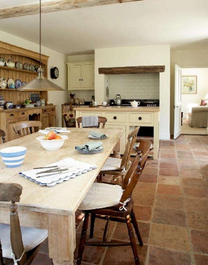 A Freestanding Kitchen Work Surface