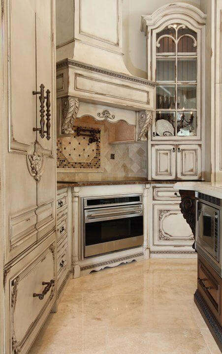 Antique Style Kitchen Cabinets