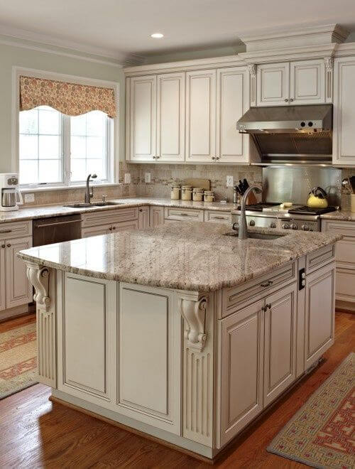 25 Antique White Kitchen Cabinets Ideas That Blow Your Mind Reverb