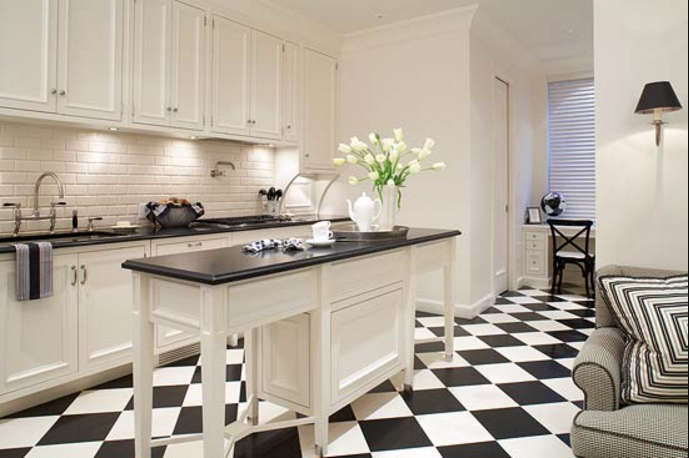 20 fancy design for black and white kitchen ideas