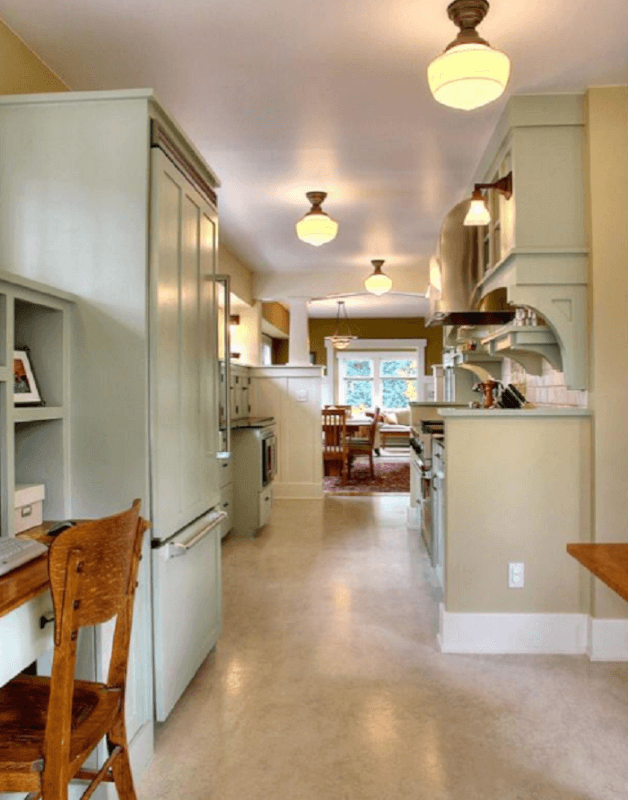 Galley Kitchen Lighting