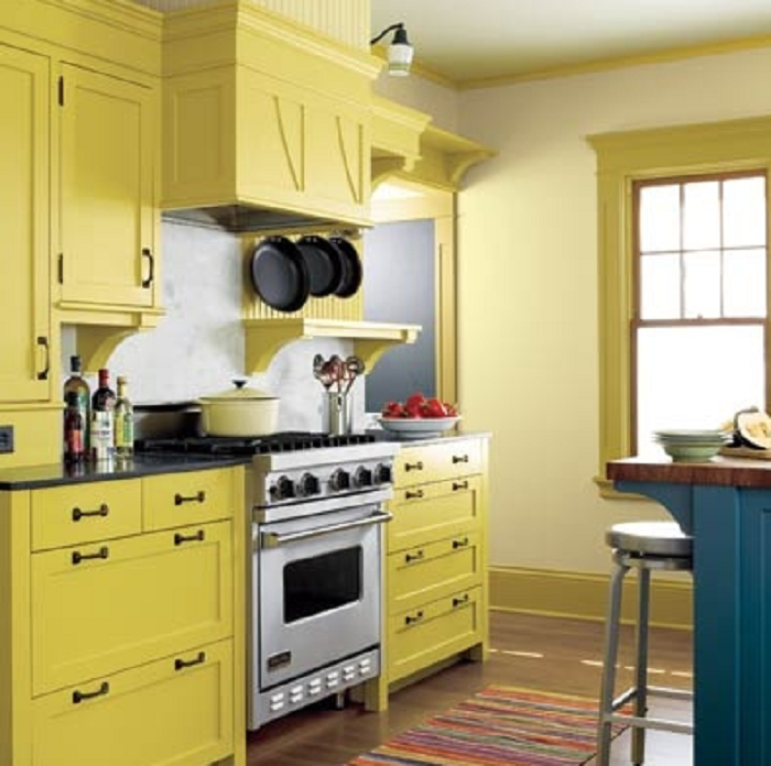 Yellow Kitchen Environment Canada