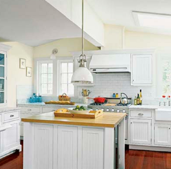 Mellow Yellow Kitchen Walls