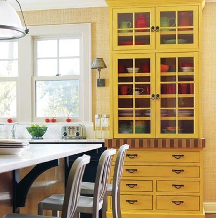 Yellow Kitchen Decor