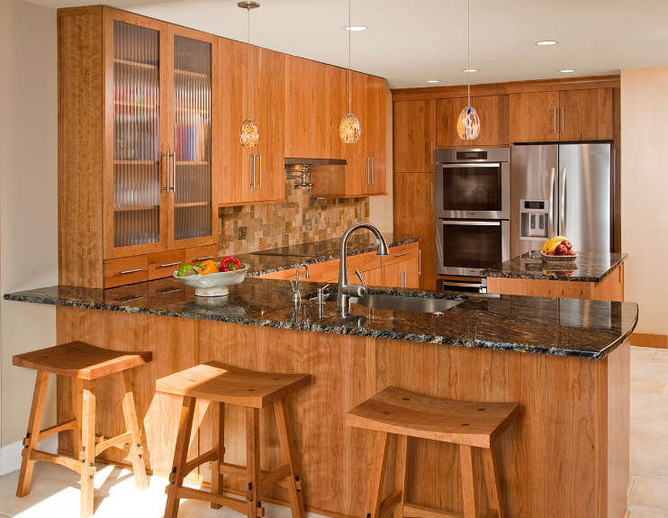 u shaped kitchen designs photo gallery
