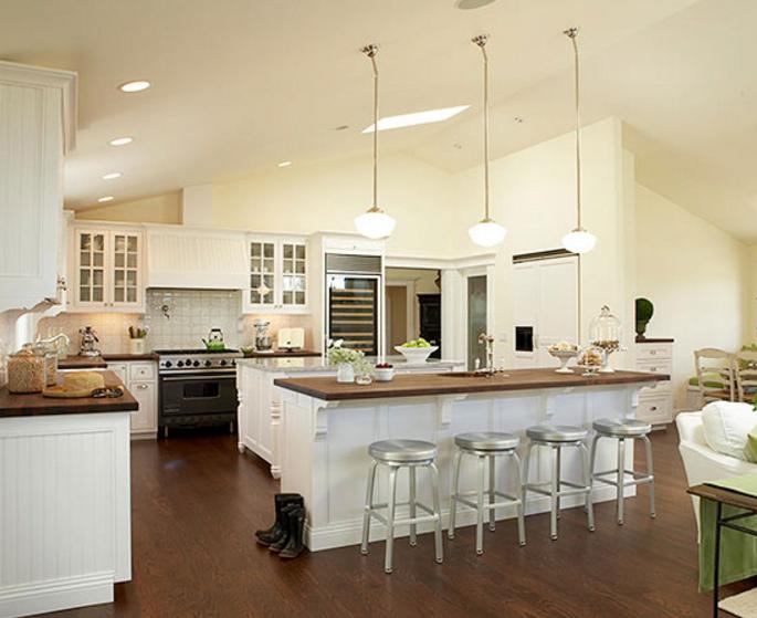 open kitchen design restaurant