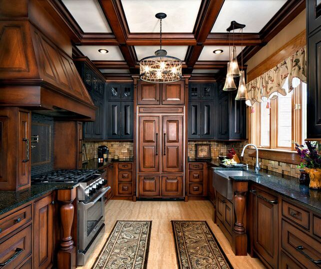 two tone kitchen cabinets doors