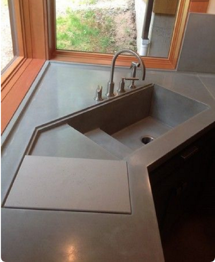 ⫸25 Cool Corner Kitchen Sink Designs [Best Ideas With ...