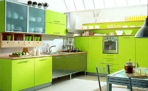 19 Best Green Kitchen Cabinets Ideas For Your Home