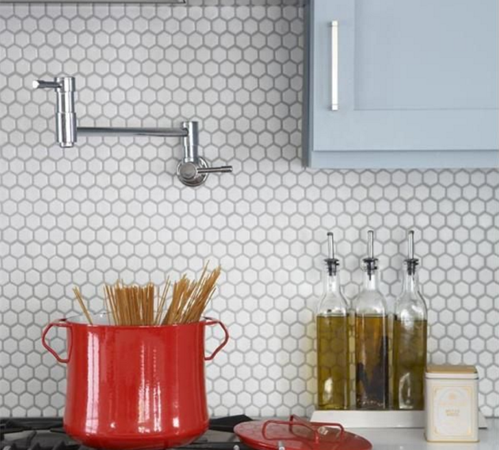 mosaic tile backsplash