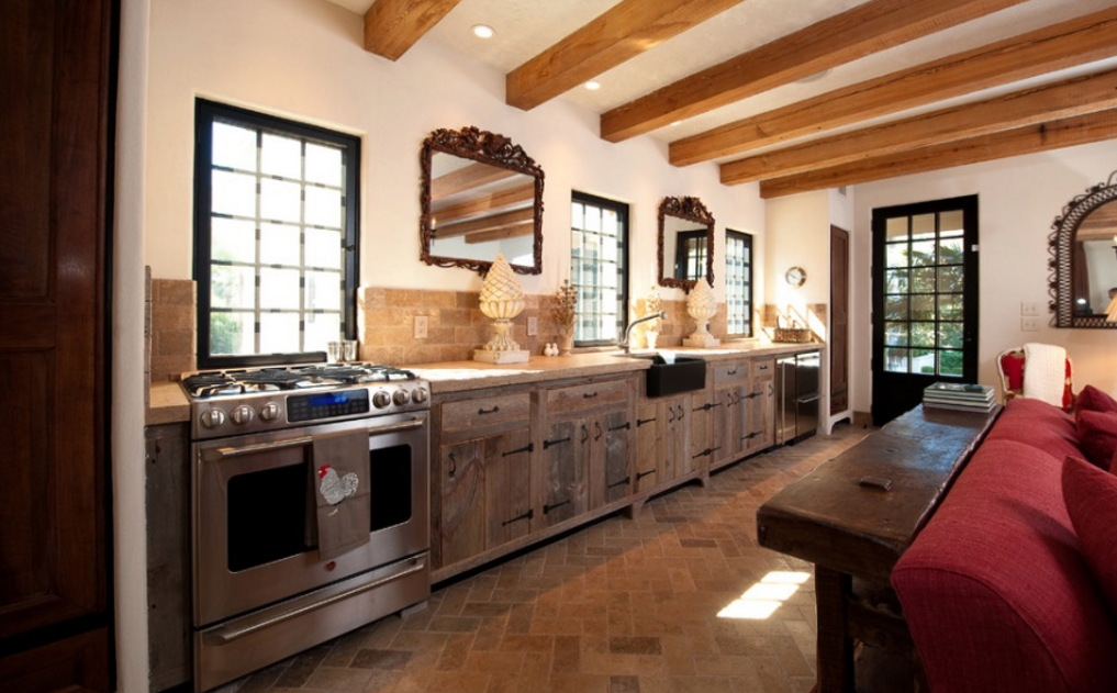 country style cabinets