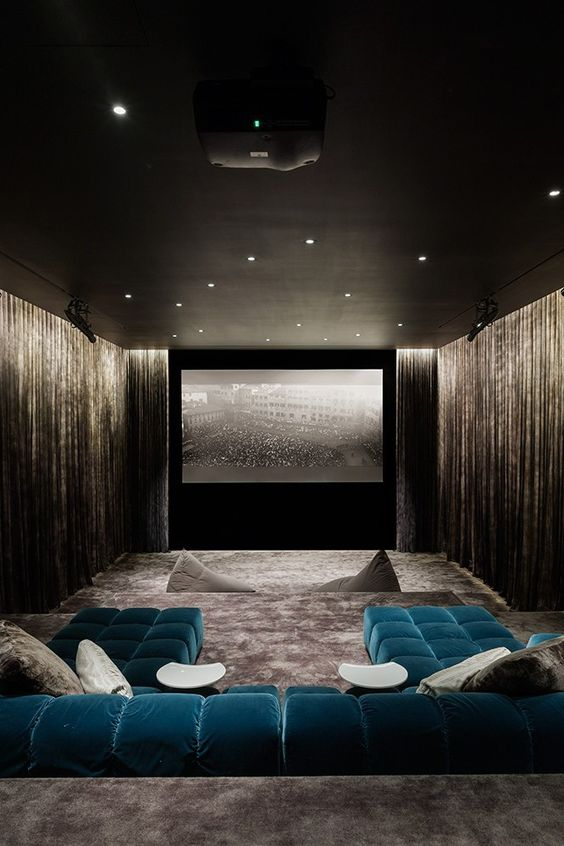 27 Cool Basement Home Theater Ready To Entertain Reverb Sf