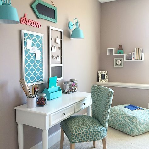 marvellous teenage girl bedroom color ideas | 18 Turquoise Room Ideas You Can Apply in Your Home - Reverb