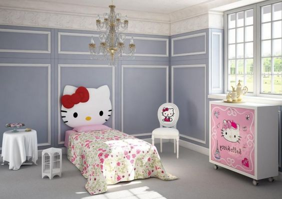 Hello Kitty Bedroom Furniture With Cabinets