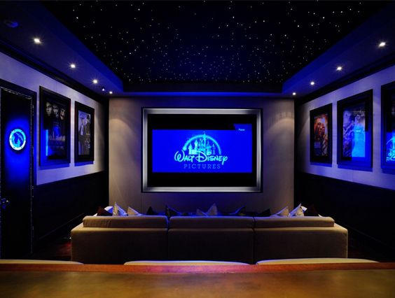 Home Theater Ceiling Basement