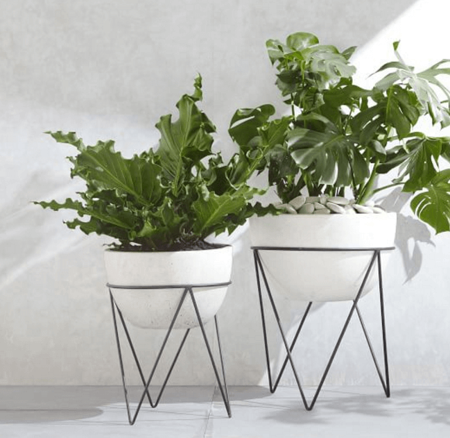 Midcentury Modern Plant Stands