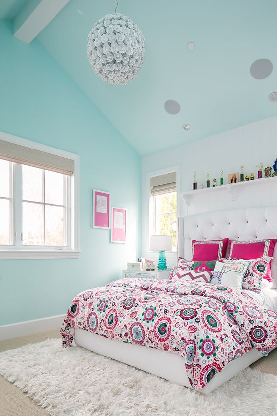 18 Turquoise Room Ideas You Can Apply In Your Home Reverb