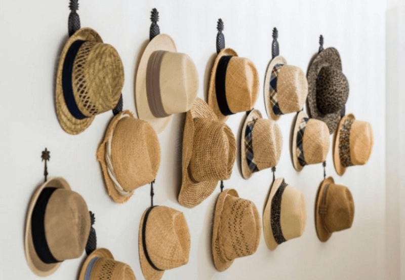 Diy Hat Rack Ideas