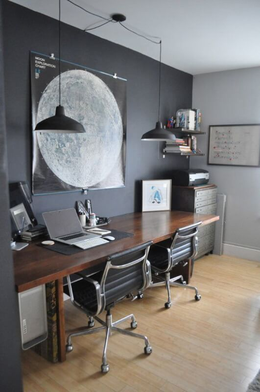 Male Living SpaceLights Ideas