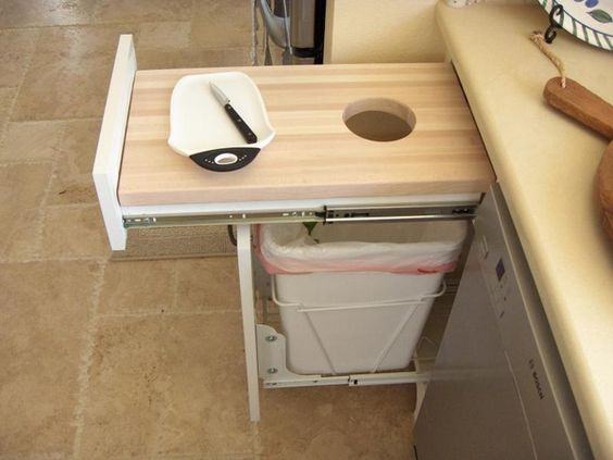Pullout Trash Can Under Sink