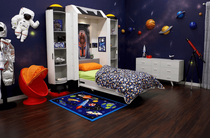 Space themed bedrooms