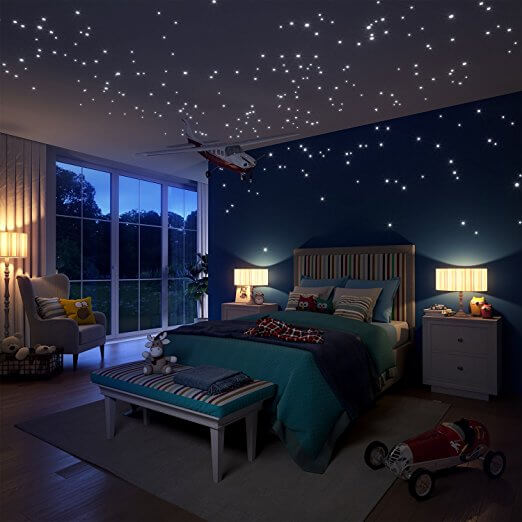 night themed bedroom