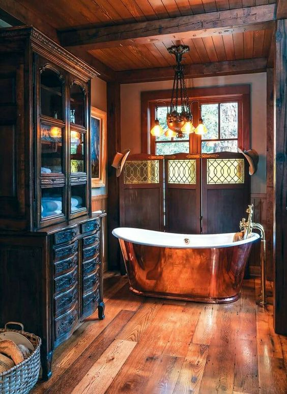 Steampunk Bathroom Ideas