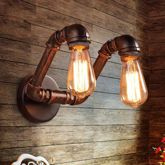 Steampunk Lighting Fixture