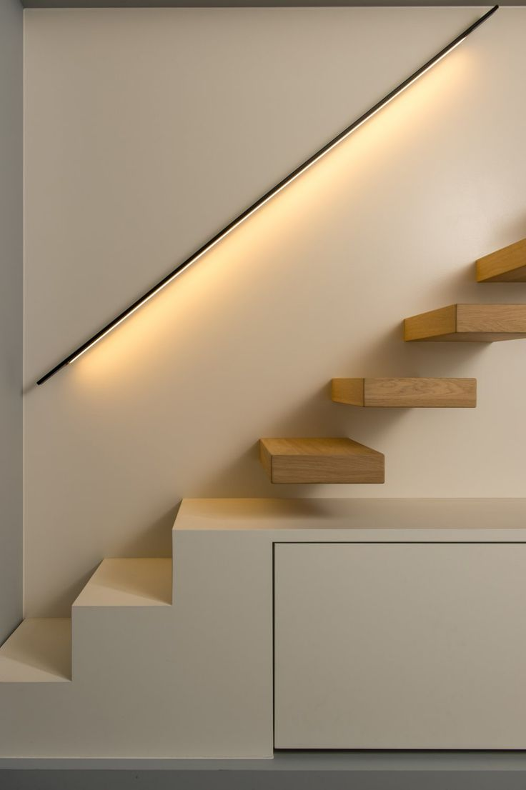 Surface Lighting for Stairways