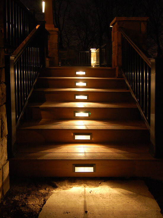 Outdoor Stair Lighting