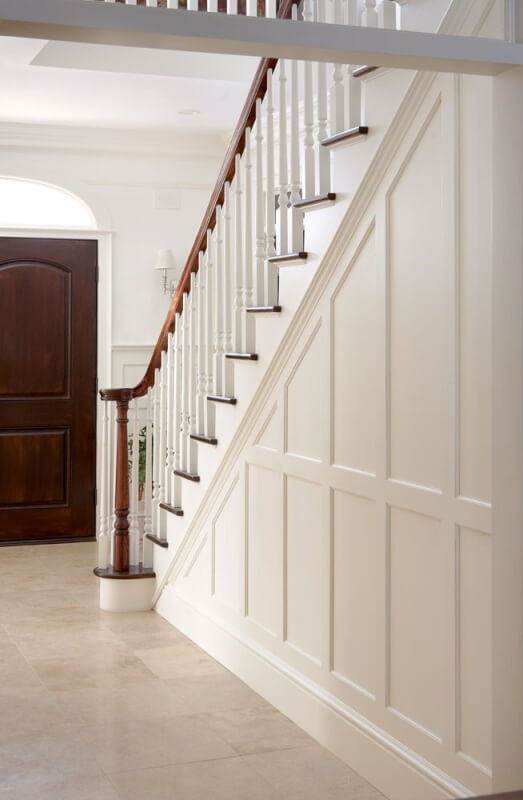 Wainscoting Stairs