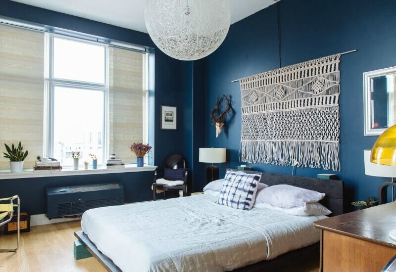 Navy Blue Bedroom Ideas, Light Blue & Dark Blue Bedrooms ...
