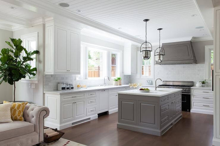 12 Beautiful Gray Kitchen Cabinet Ideas for Your Kitchen