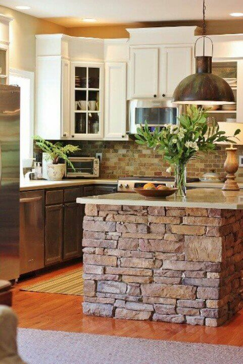 rustic island for kitchen