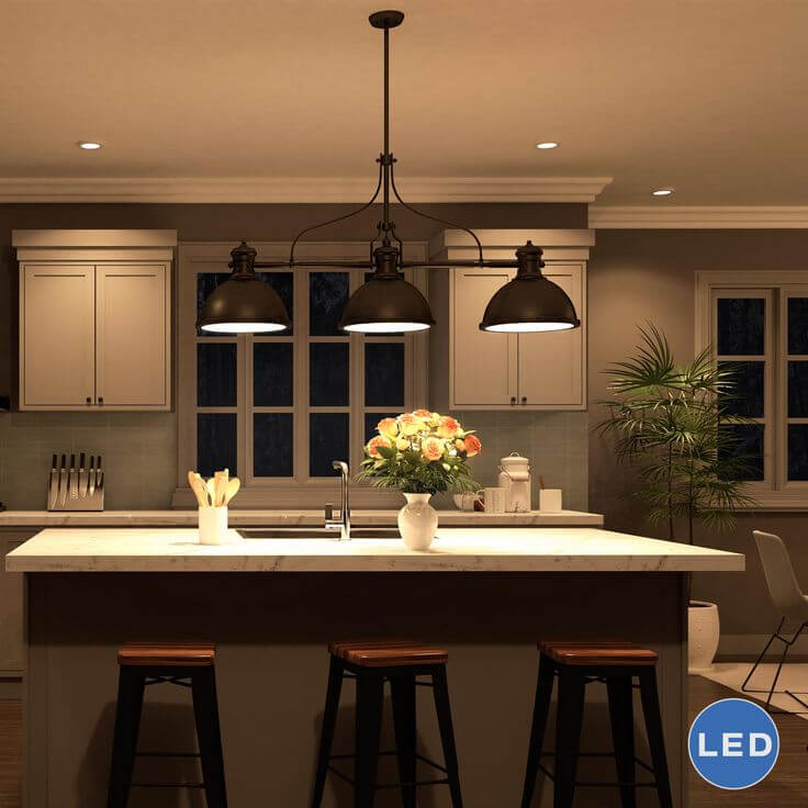 15 Beautiful Kitchen Island Lighting Ideas With Featured Images