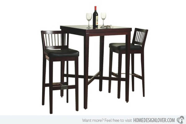 High Small Kitchen Table and Chairs