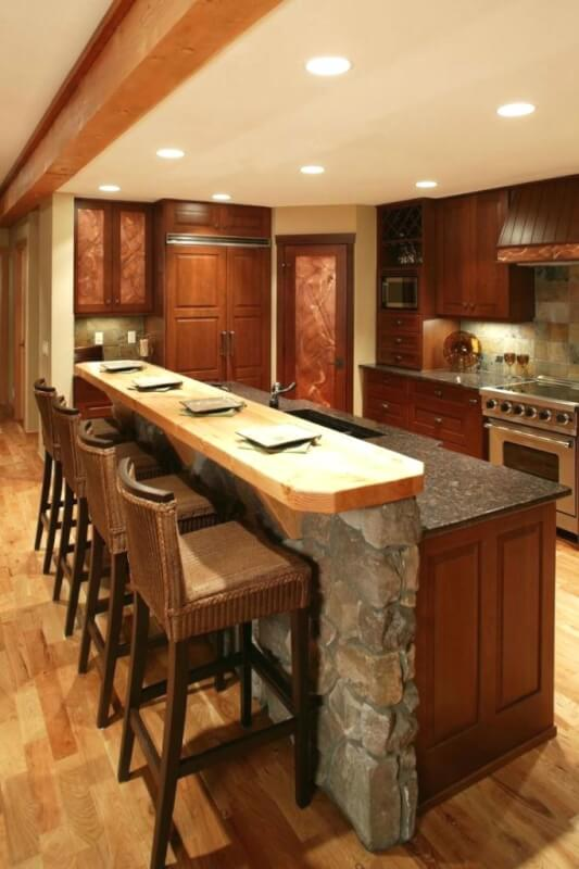 Impressive Kitchen Island for An Elegant Kitchen