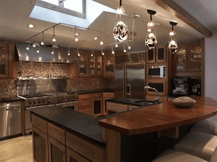 ideas for kitchen island lighting