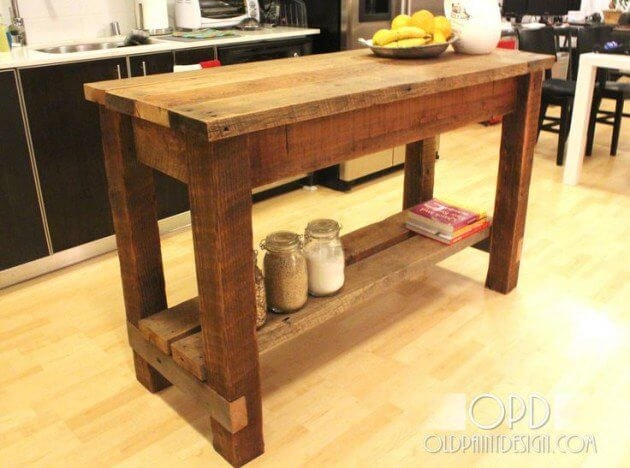 Small Rustic Kitchen Island Ideas