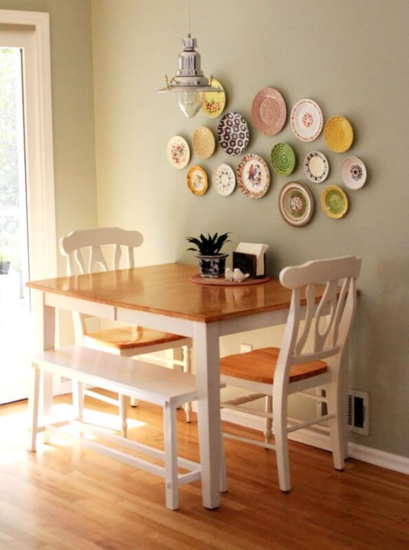 Square Wooden Small Kitchen Table