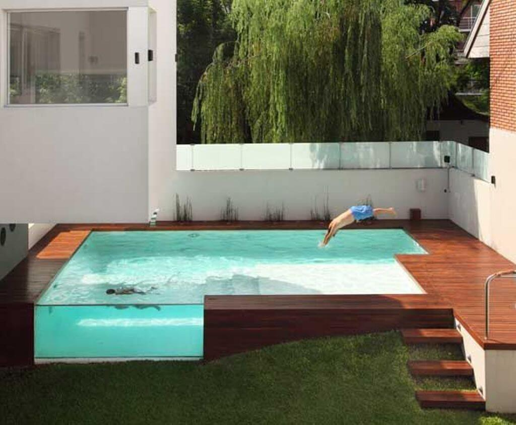 Above Ground Pool Ideas for Luxurious Home