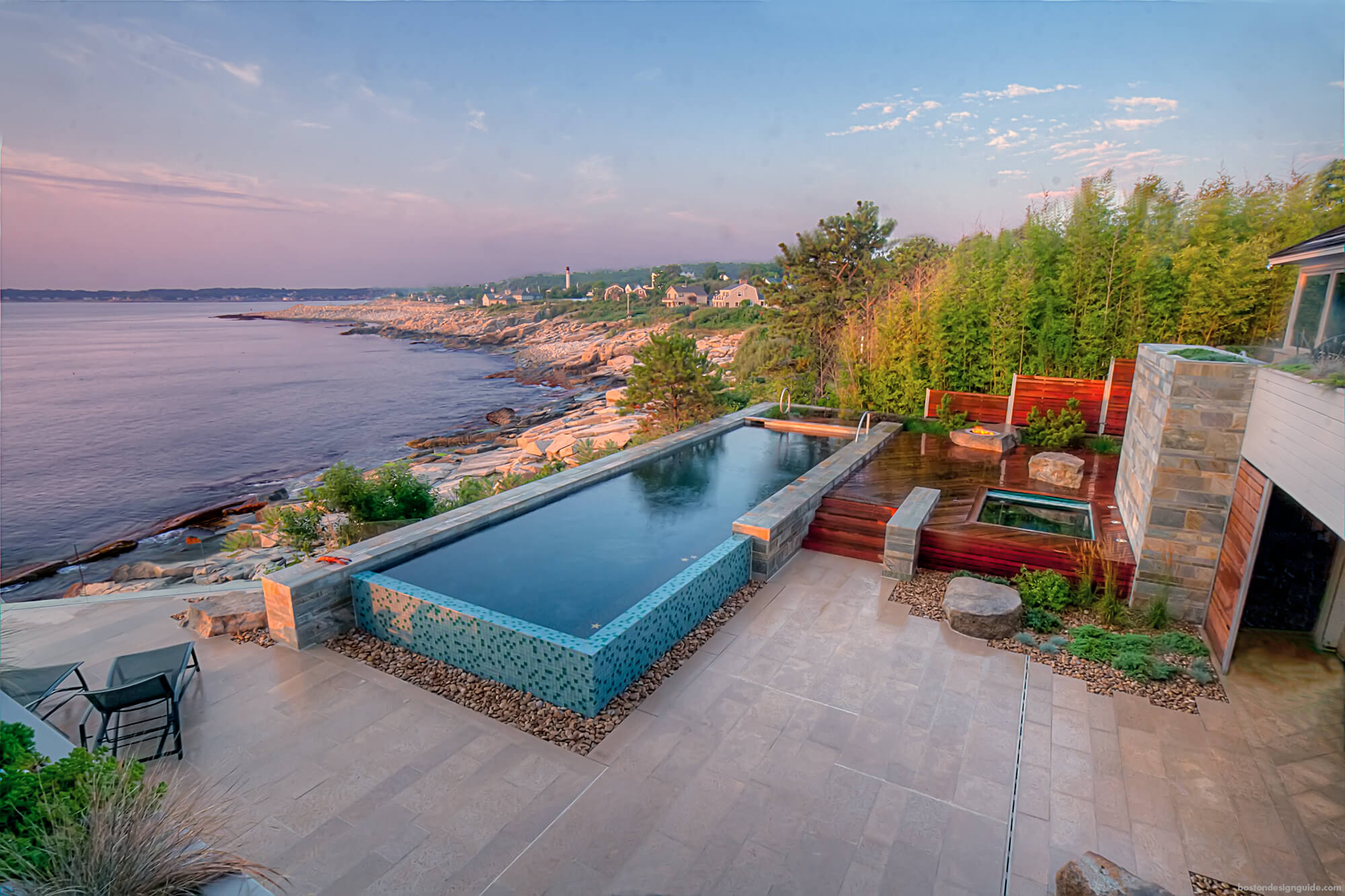 Above Ground Pools Finished with Custom Materials