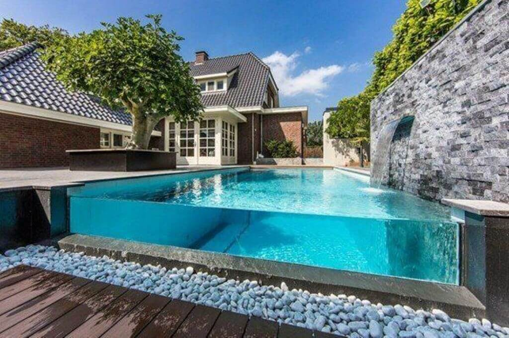 Glass Above Ground Pool