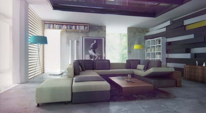 Gray Living Room Color Schemes