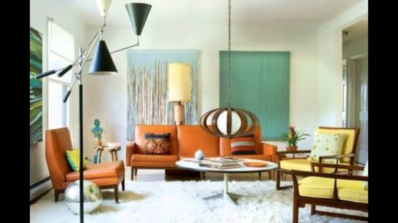 mid century living room ideas