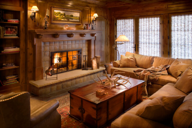 rustic living room chairs
