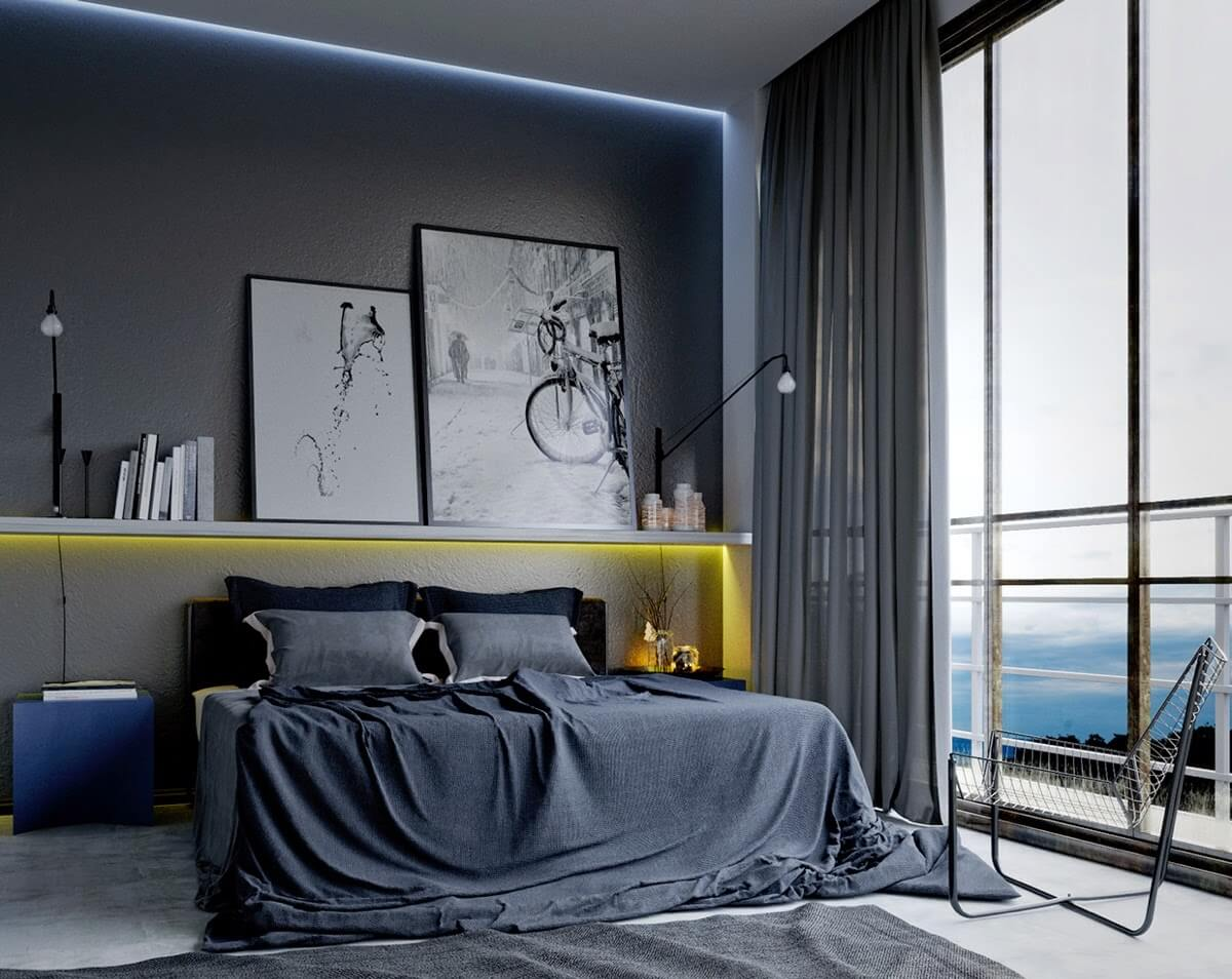 ideas for a mens bedroom