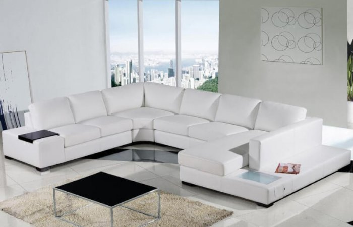White living room ideas