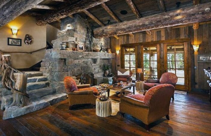 Rustic Living Room