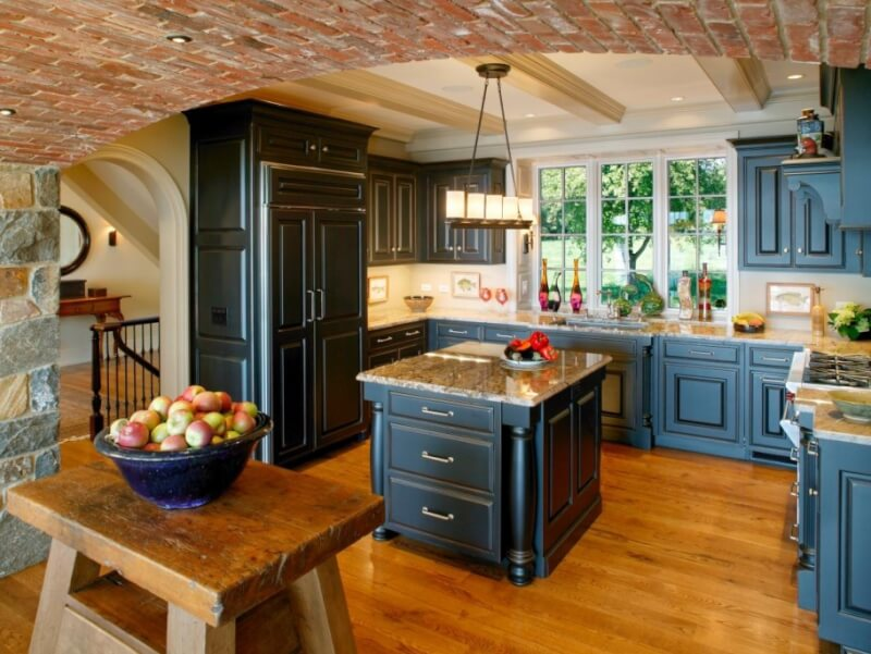 14 Marvelous Designs Of Blue Kitchen Cabinets Reverb Sf